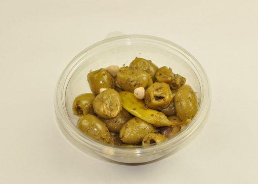 Marinert oliven