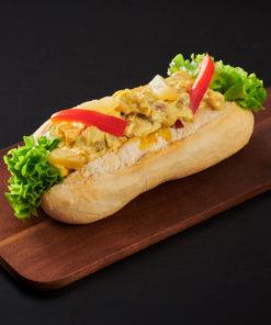 baguett med kyllingsalat