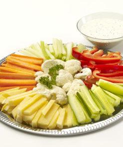 Frukt-og grønnsaksfat