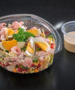 Salat med reker og egg