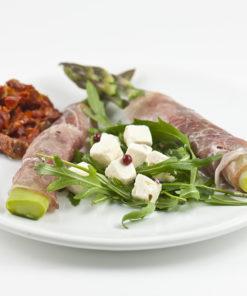 Spekeskinke med asparges