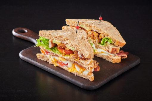 club sandwich kylling