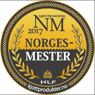 Norgesmester medalje